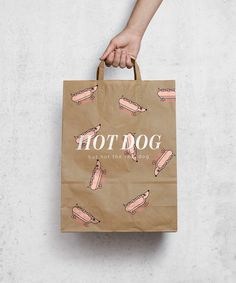 Hot dog Restaurant branding on Behance You are in the right place about Restaurant people Here we offer you the most beautiful pictures about the Restaurant flyer you are looking for. When you examine Menu Restaurant, Restaurant Identity, Food Packaging Design, Print Packaging, Packaging Design Inspiration, Dog Branding, Branding Design, Menu Design, Stationery Design
