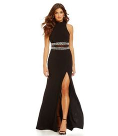 2 color evening dresses at dillards