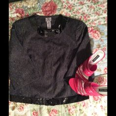 $10 DEAL!!! Stylish tweed speckles blazer. Very sheik black tweed speckle blazer. 💕 Excellent condition, only worn once. Worthington Jackets & Coats Blazers