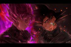 Dragon Ball Z, Dragon Ball Image, Black Goku, Foto Do Goku, Zamasu Black, Dbz Memes, Goku Wallpaper, Dark Blood, Naruto And Sasuke Wallpaper