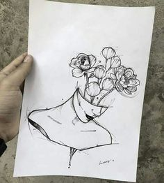 Ear Piercing Ideas For Females Imagen de Drawing and Flower .- Ear Piercing Ideas For Females Imagen de Zeichnung und Blumen – Pinspace Ear Piercing Ideas For Females Imagen de drawing and flowers – - Sketch Art, Art Drawings Sketches, Tattoo Sketches, Pencil Drawings, Drawing Art, Unique Drawings, Ideas For Drawing, Drawing Tattoos, Sea Drawing