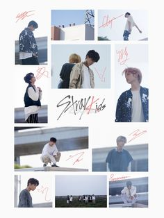 Stray Kids Autographs (Voices MV) by ZoQiao