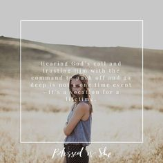 Hearing God's call and trusting Him with the command to push off and go deep is not a one time event—it's a vocation for a lifetime. Some days I come up empty. Some days I'm bone tired with nothing measurable to show for it. All He asks on the evenings of those days is my promise to get up the next day and do whatever He tells me again. __ Read today's #BISdailydevotion written by @heartofmyhome on the site.  __ photo by @shayyryan