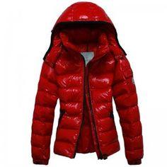 9e583e5e158 Doudoune Moncler Pas Cher Femme Clairy Rouge Moncler Jacket Women