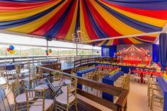 Festa infantil aniversário no circo 9