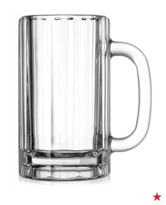 Now, this is a beer mug! Update your barware and add these large mugs to your wedding registry. Just be ready to host a lot of game night celebrations!