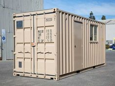 Port Shipping Containers supply site offices Australia wide constructed from modified shipping containers and portable buildings. Cheap Shipping Containers, Shipping Container Office, Container Company, Container Homes For Sale, Security Shutters, Beach Accommodation, Huge Design, Site Office, Low Cost Housing