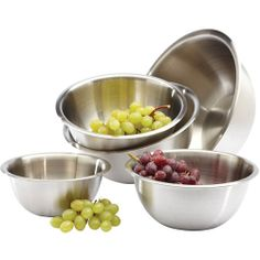 Focus Amco Houseworks 9 qt Stainless Steel Mixing Bowl: Kitchen & Dining : Walmart.com
