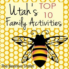 utah activities -- so many great activities, great for family vacations