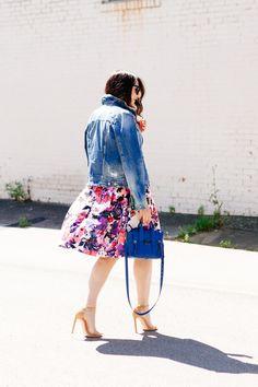 Floral Midi Skirt | Kendi Everyday