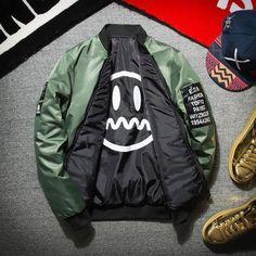 Two-Sided Baseball Jacket