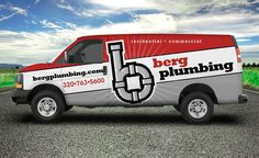 Proposed truck wrap design for a Minnesota based plumbing company.