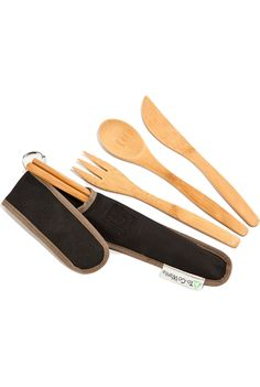 To-Go Ware Bamboo Utensil Set / REI | cute bamboo utensils - for backpacking or fun! #sponsored
