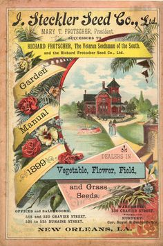 1899 seed catalogue