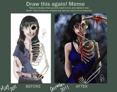 Draw This Again Meme by jujubajulia.deviantart.com