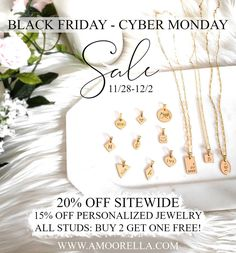 Get your shopping carts ready! Our biggest sale of the year starts Thanksgiving day! Want to SHOP RIGHT NOW? Subscribe to our VIP Email List to get early access to our Black Friday-Cyber Monday Sale!! 🖤 www.Amoorella.com . . . . . #blackfriday #cybermonday #blackfridaysale Get One, You Got This, Shopping Carts, Cyber Monday Sales, Email List, Personalized Jewelry, Vip, Black Friday, Thanksgiving