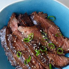The Ultimate Asian Flank Steak Marinade Recipe Main Dishes with flank steak, low sodium soy sauce, balsamic vinegar, vegetable oil, honey, garlic cloves, fresh ginger, scallions