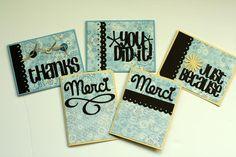 Custom Card Making Design - Card Making Examples/Vellum - Card Making Basics | Vanilla Joy