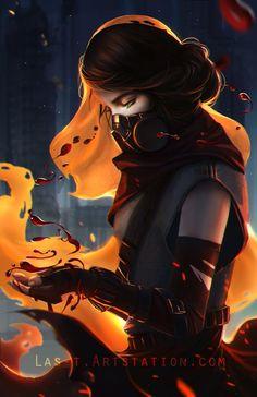 ArtStation - Soulless: The Immortal Gene, Thander Lin