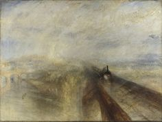 Rain, Steam, and Speed - The Great Western Railway 1844. ~ JMW Turner