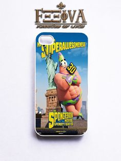 Spongebob The Movie Patrick Phone Case For iPhone Samsung iPod Sony | Feeiva