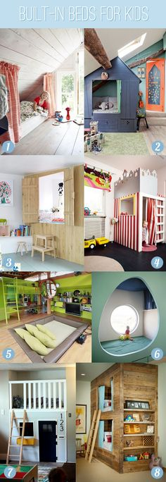 Awesome Built-in-Beds-For-Kids