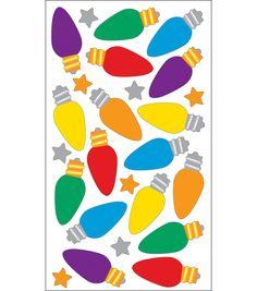 EK Success Sparkler Classic Stickers-Christmas Lights