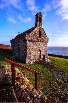 The Chapel of St Non's, St David's, Pembrokeshire, Wales