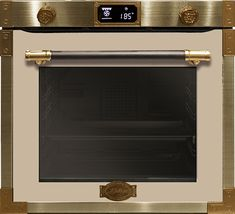 EH 6426 ElfAD Pyrolyse Gold Kitchen, Art Deco, Led, Retro, Flat Screen, Kaiser, Timer Clock, Energy Consumption, Cleaning