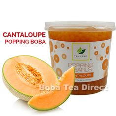 Cantaloupe TeaZone Popping Pearls GOURMET-Series (7-lbs) http://www.bobateadirect.com/cantaloupe-teazone-popping-pearls-gourmet-series-7-lbs.html #PoppingBoba #BurstingBoba #bobateadirect