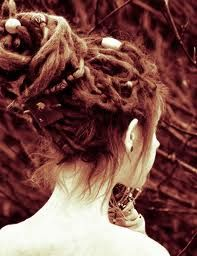 Not a big fan of dreads, but this look is very pretty