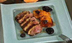 Receta de Magret de pato con boniato y salsa de oporto