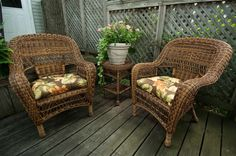 Beautiful wicker furniture comfy and durable. Wicker Furniture, 3 Piece, Pine, Coastal, Room Ideas, Comfy, Chair, Classic, Beautiful
