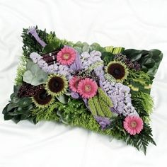 Funeral Cushions And Hearts