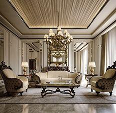 Novità 2016 - Mobili per la zona giorno classica e di lusso in stile veneziano e fiorentino - Andrea Fanfani