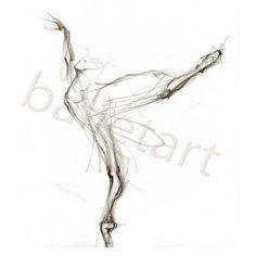 Black and White Arabesque Ballet Art art print pencil by BalletArt Swan Drawing, Gesture Drawing, Drawing Skills, Figure Drawing, Manga Drawing, Art Ballet, Ballerina Art, Ballet Dance, Tattoos