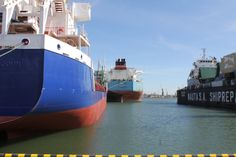 Vessels are waiting for repair in Nauta Shiprepair Yard, April 2015
