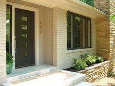 mid century modern front door | ... front door | Modern Charlotte, NC Homes For Sale | Mid-Century Modern