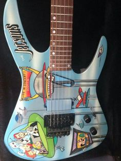 Jetsons. #oneofakind #electric #guitar