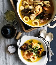 Catalan seafood stew (Suquet de pescados)-my son made this for my 60th birthday dinner- exceptional!