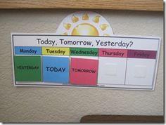 Classroom Calendar/Weather Bulletin Board Printables