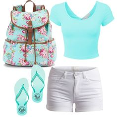 Untitled #49 by evanmonster on Polyvore featuring polyvore fashion style Pieces Victoria's Secret PINK Candie's
