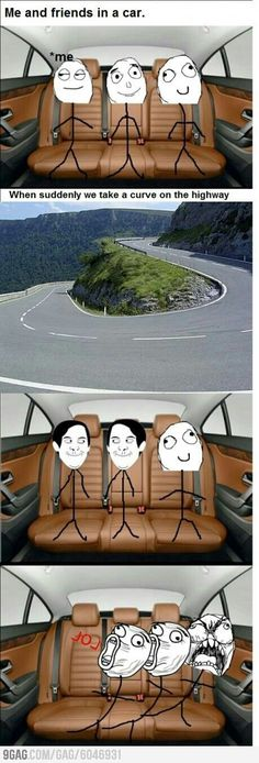 Appropriate Teen Derp Me and My Friends In a Car - Clean Appropriate Humor, Jokes, Memes Funny Cute, Really Funny, Hilarious, Funny Laugh, Rage Comics, Funny Comics, Derp Comics, Funny Memes, Jokes