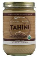 Vitacost Whole Food Certified Organic Unsalted Sesame Tahini