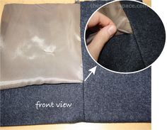 hemming with lining