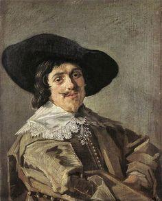 Portrait of a Man, by Frans Hals (Dutch, 1580-1666).