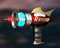 Right Hemisphere Ray Gun - click the link to see the gallery of zappery.