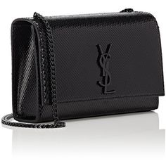 Saint Laurent Women's Monogram Kate Medium Chain Bag ($2,290) ❤ liked on Polyvore featuring bags, handbags, chain purse, monogrammed bags, monogrammed handbags, hardware bag and chain strap bag