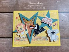 Birthday Bonanza Shaker Card - Learn techniques of card making & paper crafting with stamps Card Making Tutorials, Card Making Techniques, Rubber Stamping Techniques, Twin First Birthday, Cardmaking And Papercraft, Handmade Birthday Cards, Handmade Cards, Cricut Cards, Shaker Cards