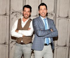 Jonathan and Drew Scott are going soft.  The HGTV stars are releasing a new line of fabrics to help everyone bring a little of their signature Property Brothers style home.  The collection, an extension of their popular Scott Living furniture and decor collection, will be available to shop on Fabric.com